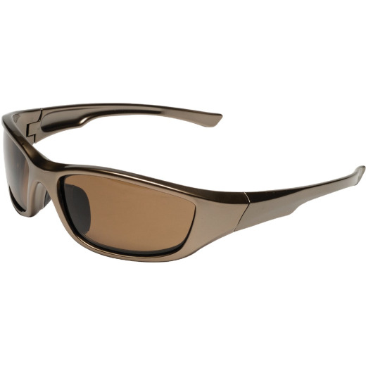 Safety Works Polarized Brown Frame Safety Glasses with Brown Lenses