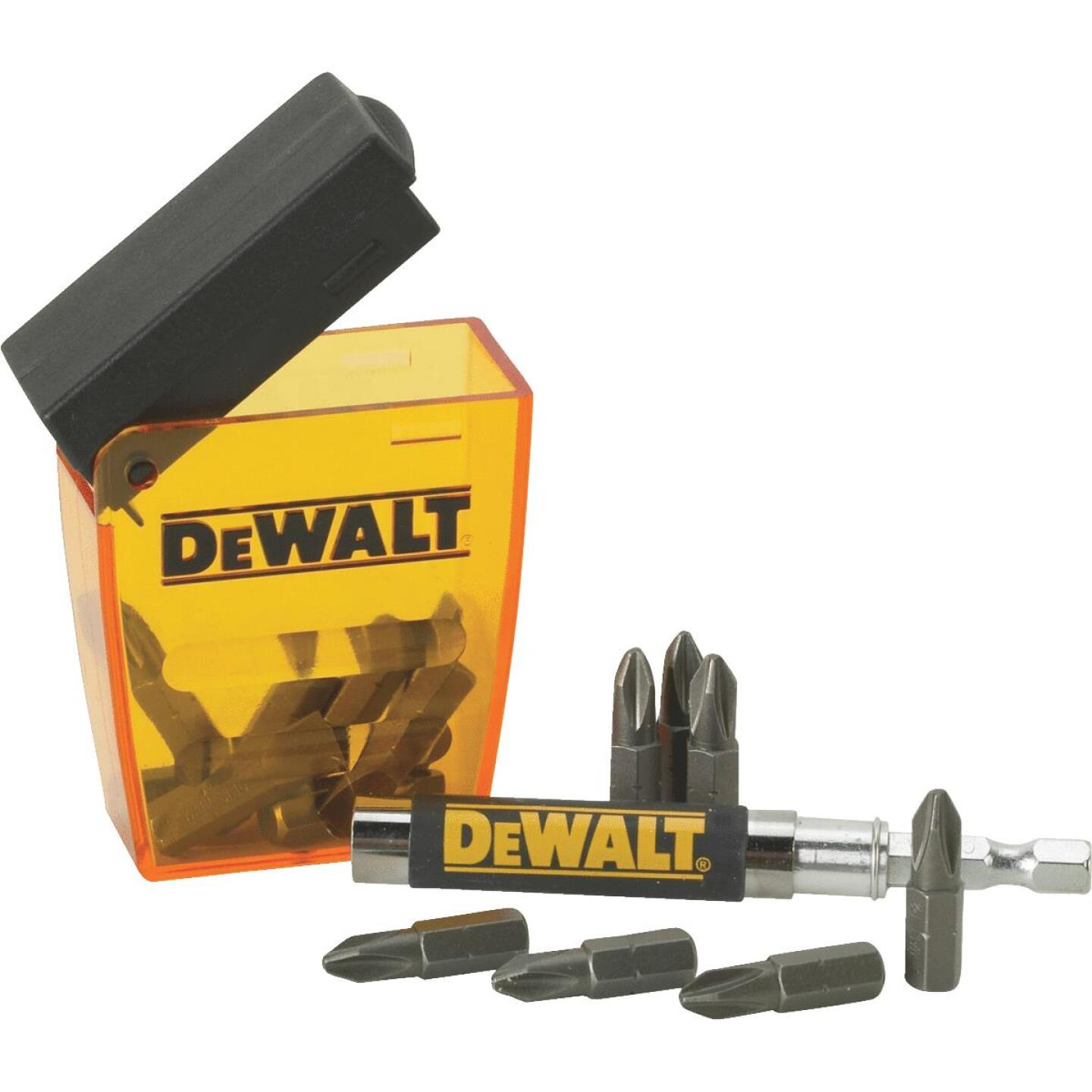 DeWalt 16-Piece Magnetic Drive Guide Screwdriver Bit Set Image 1