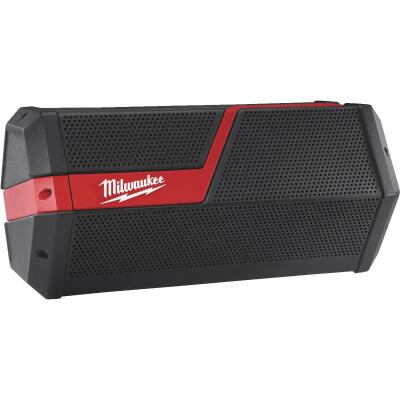 Milwaukee M18/M12 18-Volt and 12-Volt Lithium-Ion 100 Ft. Cordless Bluetooth Speaker (Bare Tool)
