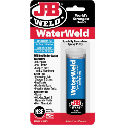 J-B Weld 2 Oz. WaterWeld Epoxy Putty