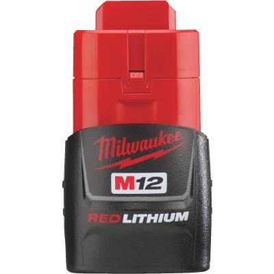 Milwaukee M12 REDLITHIUM 12 Volt Lithium-Ion 1.5 Ah Compact Tool Battery