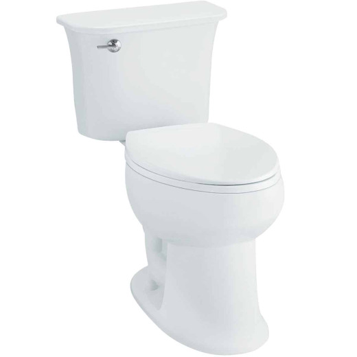 Sterling Stinson White Elongated Bowl 1.28 GPF Toilet