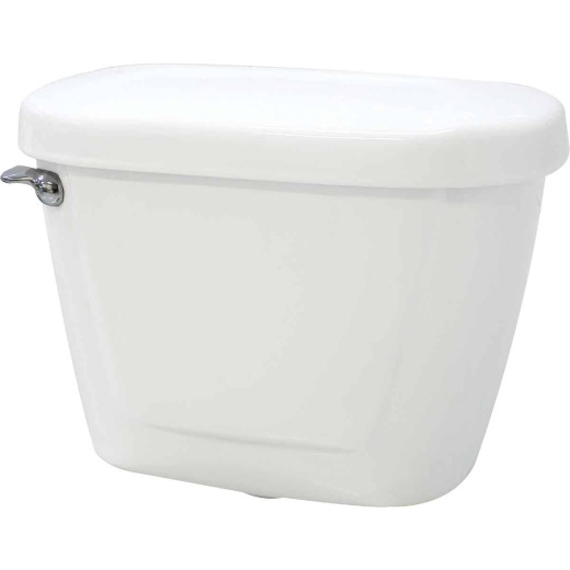 Cato Jazmin White Vitreous China 1.28 GPF Toilet Tank