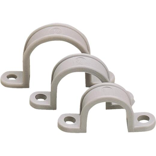 Gardner Bender 1-1/2 In. Non-Corrosive Plastic/Schedule 40 PVC/Copper Conduit Strap (10-Pack)