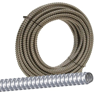 Southwire 3/8 In. x 100 Ft. Aluminum Flexible Flexible Metal Conduit