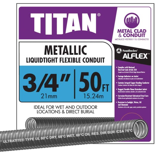 Southwire 3/4 In. x 50 Ft. Flexible Flexible Metal Conduit