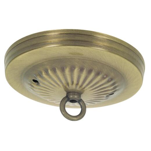 Westinghouse 5-1/8 In. Antique Brass Canopy Kit