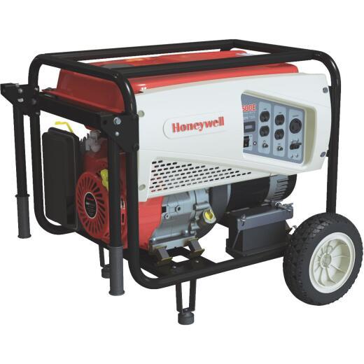Honeywell 7500W Gasoline Powered Portable Generator (California Compliant)