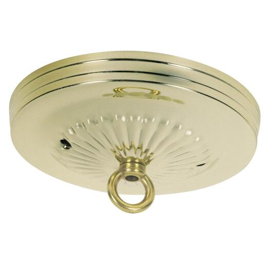 Westinghouse 5-1/8 In. Brass Canopy Kit