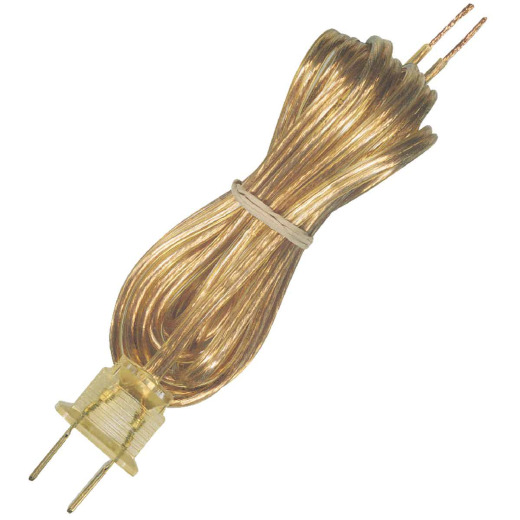Westinghouse 8 Ft. 16 Ga. Gold Replacement Lamp Cord