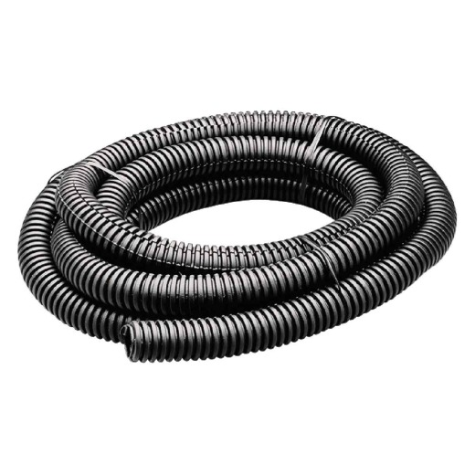 Gardner Bender 3/8 In. Dia. x 10 Ft. L. Polyethylene Black Split Flex Tubing