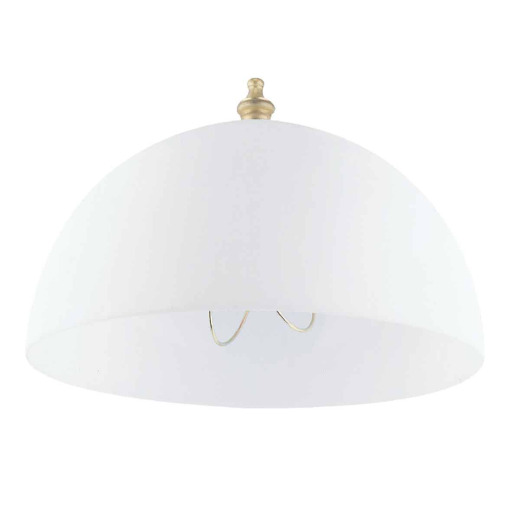 Westinghouse White Acrylic 4-3/4 In.x 8 In. Clip-On Shade