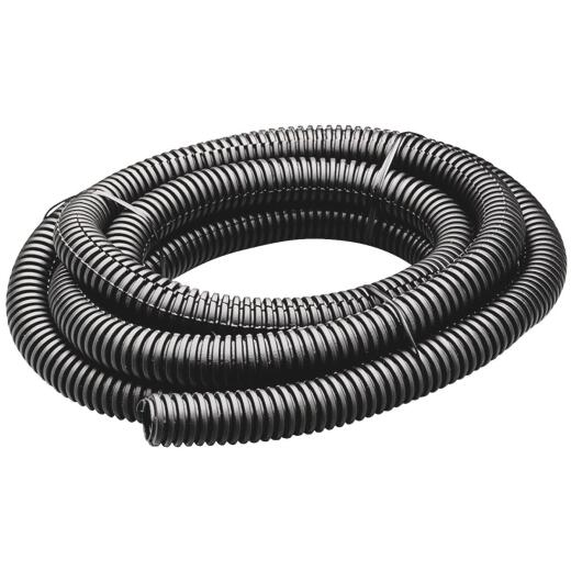 Gardner Bender 1/2 In. Dia. x 7 Ft. L. Polyethylene Black Split Flex Tubing