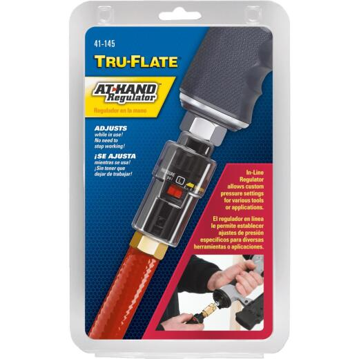 Tru-Flate At-Hand Inline Pressure Regulator