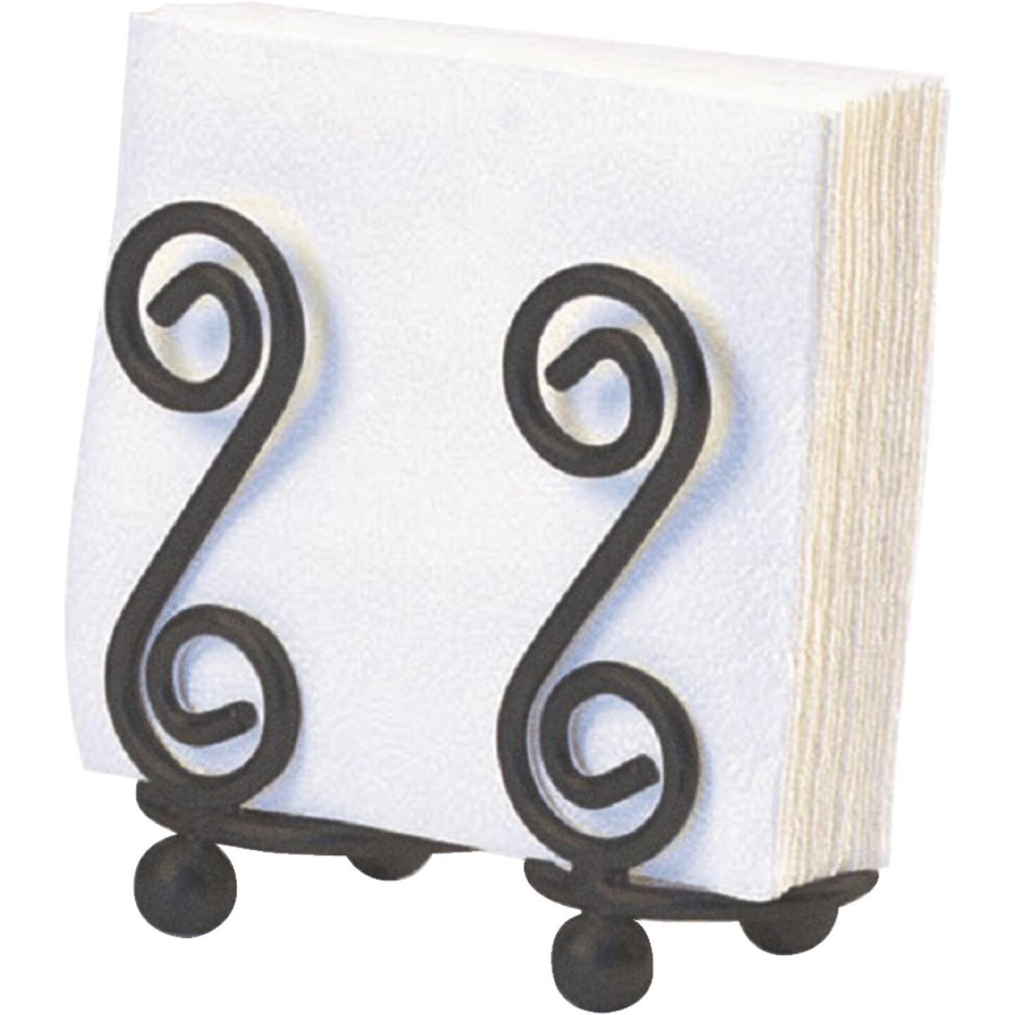 Spectrum S Scroll Design Napkin Holder Image 1
