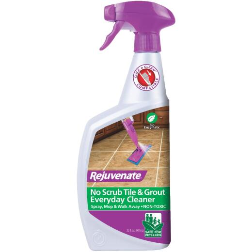 Rejuvenate 32 Oz. Bio-Enzymatic No Scrub Tile & Grout Cleaner