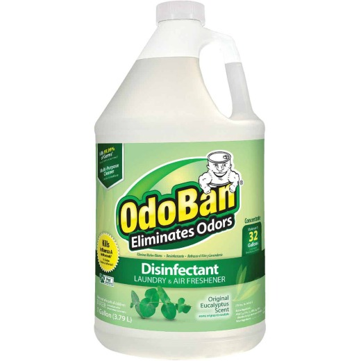 OdoBan 1 Gal. Eucalyptus Washable Surface Sanitizer & Deodorizer Concentrate