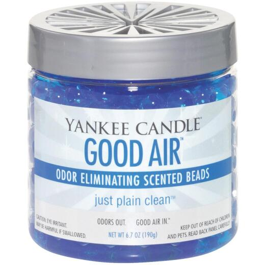 Yankee Candle Good Air 6.7 Oz. Beads Just Plain Clean Odor Neutralizer
