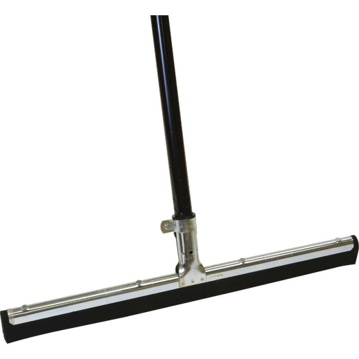 O-Cedar 18 In. Straight Rubber Floor Squeegee