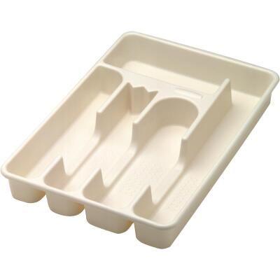 Rubbermaid 11.5 In. x 13.5 In. Bisque Cutlery Tray