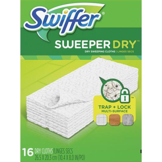 Swiffer Sweeper Dry Cloth Mop Refill (16-Count)