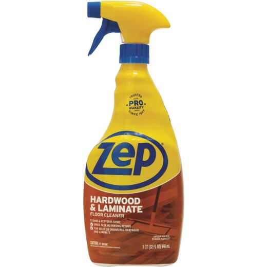 Zep Commercial 32 Oz. Hardwood & Laminate Floor Cleaner