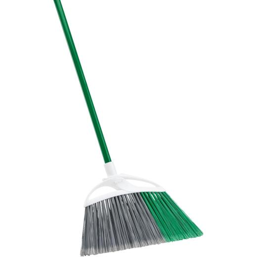 Libman 16 In. W. x 55 In. L. Steel Handle Extra Large Precision Angle Broom