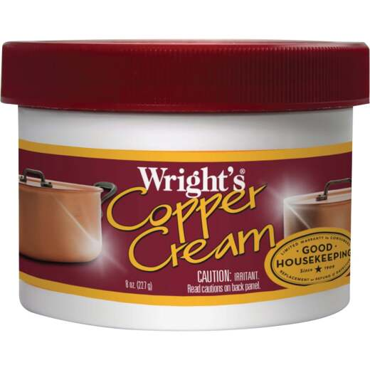 Weiman Wright's 8 Oz. Copper Cream Polish