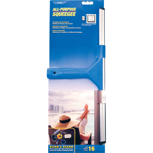 Ettore All Purpose 16 In. Rubber Squeegee