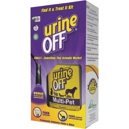 Urine Off Find It Treat It 16.9 Oz. Odor & Pet Stain Remover Kit