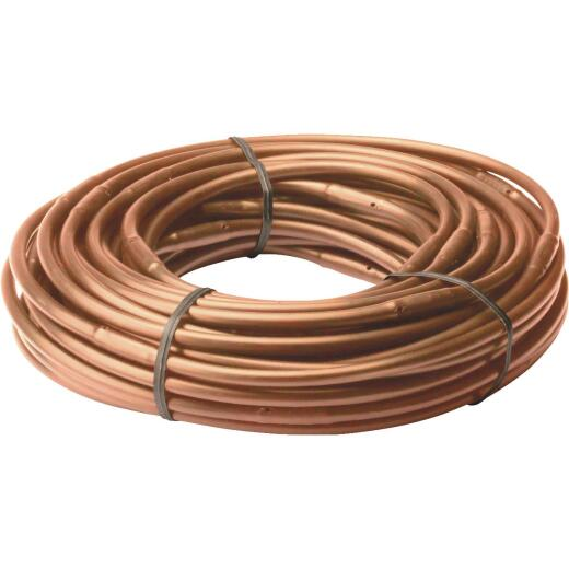 Rain Bird 1/4 In. X 50 Ft. Brown Poly Emitter Drip Tubing