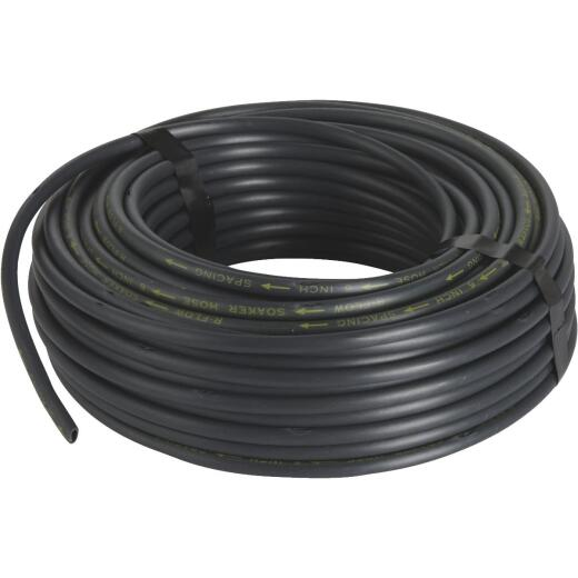 Raindrip 1/4 In. Dia. x 100 Ft. L. Poly Soaker Hose