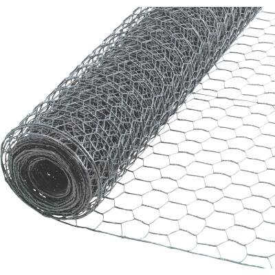 1/2 In. x 24 In. H. x 10 Ft. L. Hexagonal Wire Poultry Netting