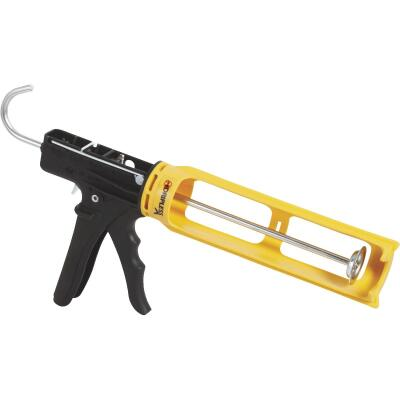 Dripless ErgoTech Series 10 Oz. 18:1 Thrust Industrial Cradle Composite Caulk Gun