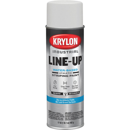 Krylon Field Striping White Field 17 Oz. Striping Paint
