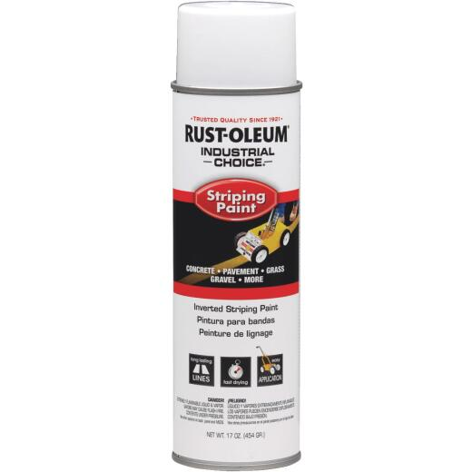Rust-Oleum Industrial Choice White 17 Oz. Striping Paint