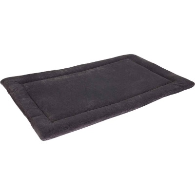 Petmate Aspen Pet 41.5 In. W. x 26.5 In. L. Woven Plush/Polyester Batting Kennel Mat Dog Bed