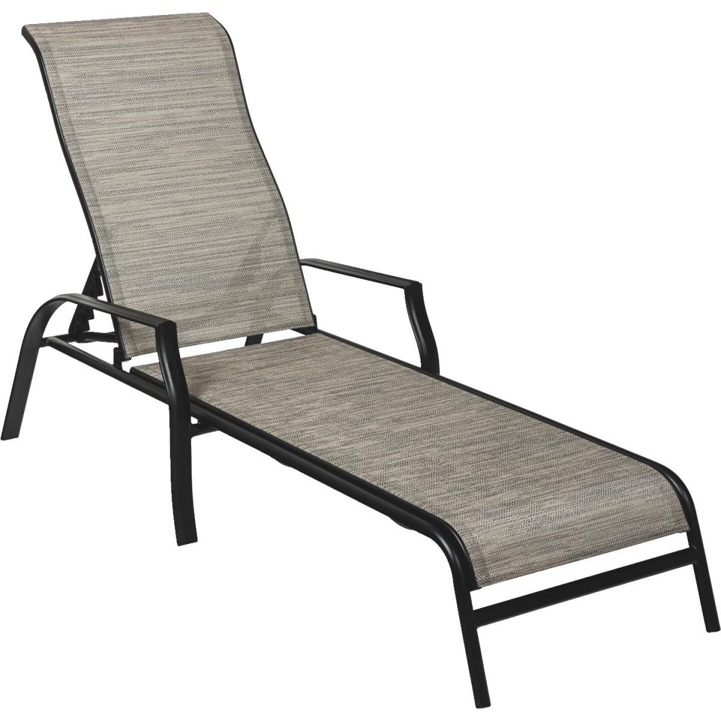 Outdoor Expressions Galveston Chaise Lounge Image 1