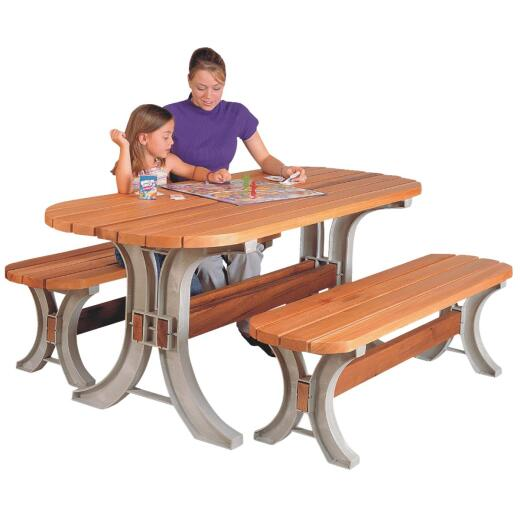 Hopkins Sand Resin Picnic Table Kit- Frame Only
