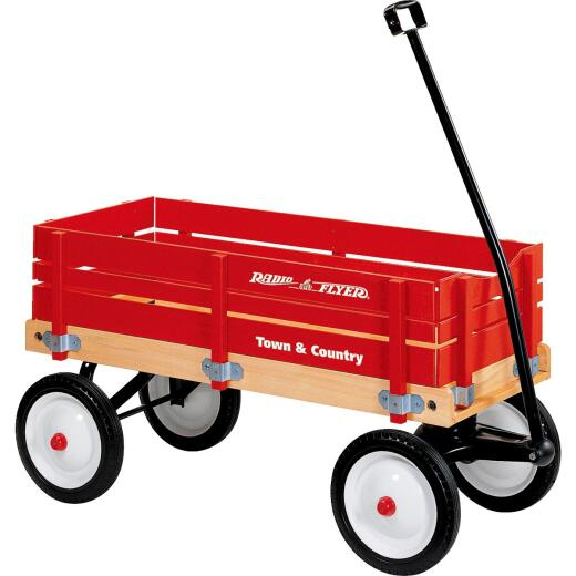 Radio Flyer Town & Country 36 In. Red Wagon