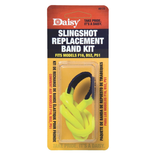 Daisy Yellow Slingshot Replacement Assembly Bands