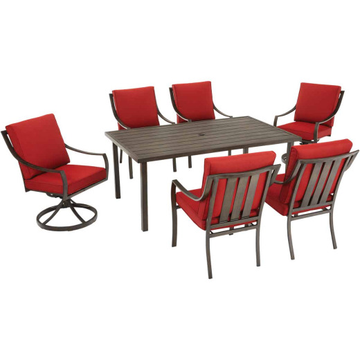 Pacific Casual Melrose Court 7-Piece Dining Set