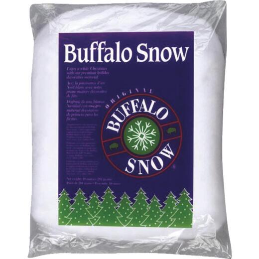 Buffalo Snow Polyester 10 Oz. Artificial Snow Fluff
