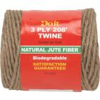 Do it 3-Ply x 208 Ft. Brown Jute Biodegradable Twine Image 1